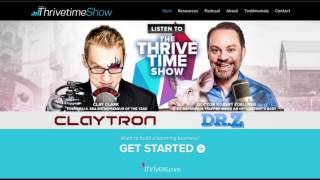 Decide to Thrive, No One Drifts to Success Part 1 | Thrivetime Show | Business Coach
