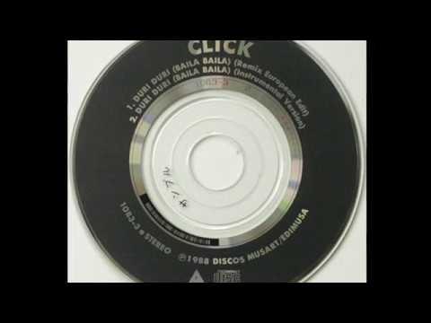CLICK - DURI DURI (BAILA BAILA) CD VERSIÓN 1988 HI NRG