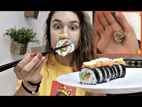 COOKING WITH KRISTEN! (Mini Sushi Roll)
