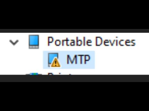 How To Fix Samsung MTP Driver.windows 10 64 Bit Mtp Driver Problem.android Mtp Driver Solution