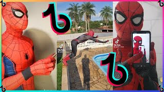 😂MELHORES VÍDEOS DO HOMEM ARANHA DO TIKTOK #4  -  (@spider_slack)