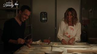 Daniel and Noa Cook Together - The Baker and the Beauty