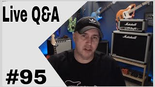 Live Q&A 95 Cool guests for the live show?