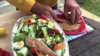 Summer Fish Salad And Spanish Potato And Sausage Cooking Tutorial