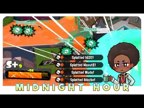 Undercover Brella to X-Rank ★ Midnight Hour Splatoon 2