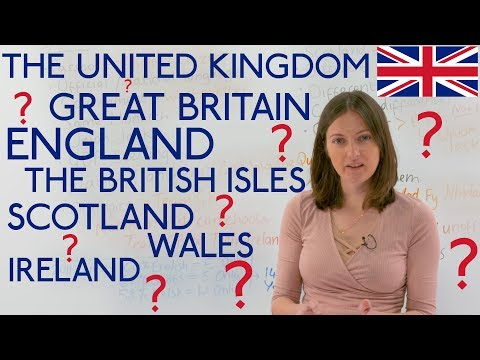 United Kingdom, Great Britain, England, Scotland, Ireland, Wales... CONFUSED???