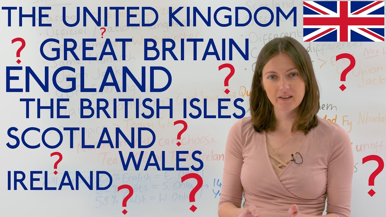 United Kingdom, Great Britain, England, Scotland, Ireland, Wales     CONFUSED???