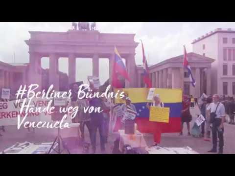 #HandsoffVenezuela #Berlin #HaendewegvonVenezuela