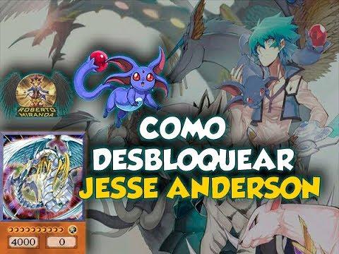 Como Desbloquear Jesse Anderson Yu Gi Oh Duel Links