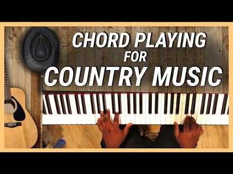 Chord Playing for Country Music -  Piano Tip - Nathaniel School of Music.