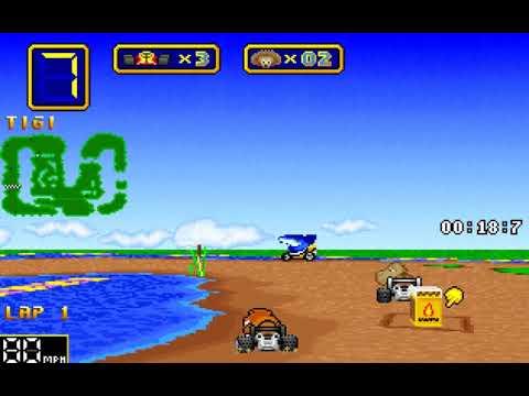 Wacky Wheels (1996) gameplay  