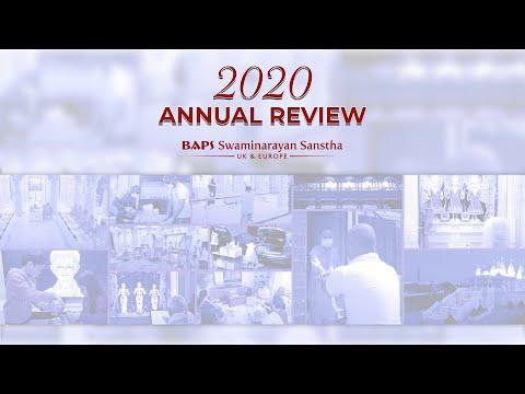 2020 Annual Review: BAPS Swaminarayan Sanstha, UK & Europe