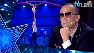 Esta PAREJA pierde el PASE DE ORO por Risto Mejide   Semifinal 02   Got Talent España 2021