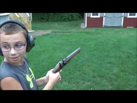 FIRING REVOLUTIONARY WAR FLINTLOCK PISTOL - YouTube