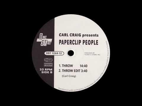 Carl Craig presents Paperclip People - Throw [1994]