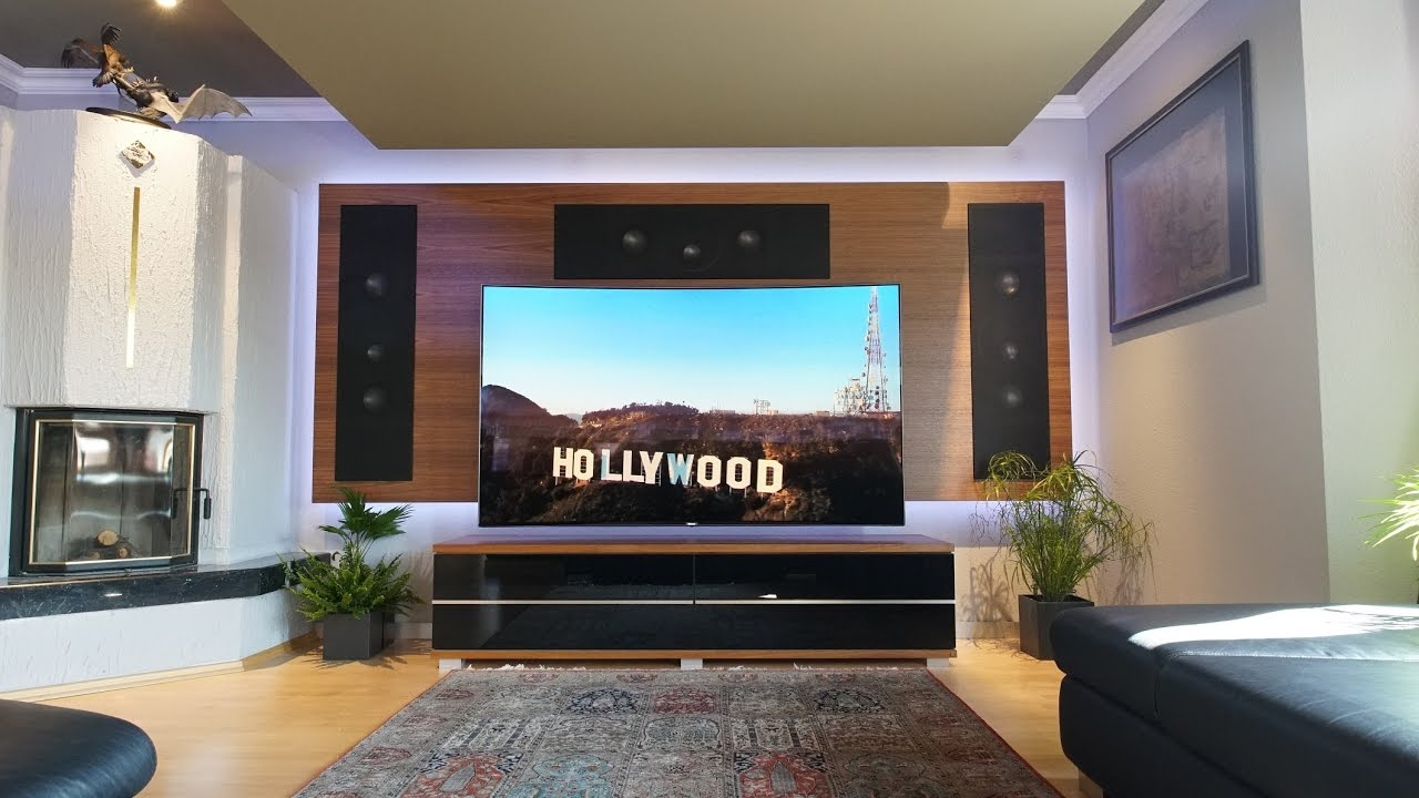 tv integration auf clevere weise heimkino mit der. Black Bedroom Furniture Sets. Home Design Ideas