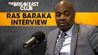 Newark Mayor Ras Baraka On Commitment To Residents, Lowering Crime Rate + More