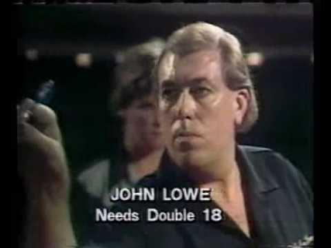 John Lowe's 9 darter