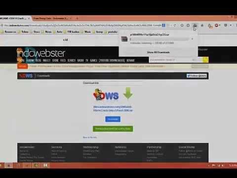 Cara Download di Indowebster yang error no conection