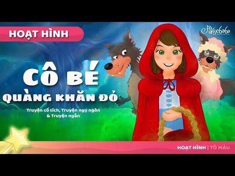 Cô bé quàng khăn đỏ - Truyện cổ tích - dongeng hoạt hình - Chuyện kể đêm khuya