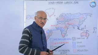 WORLD'S MAJOR CLIMATIC ZONE // Part- 2 // In Hindi // By SS OJHA SIR