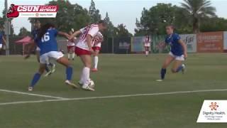 CSUN Women's Soccer vs. UC Riverside 10/14/18