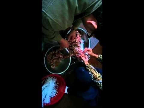 How to make Chinese Sausage?? Part 3 廣東家鄉臘腸