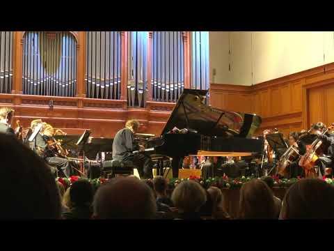 Pianist Daniel Pollack performing Chopin's Nocturne Op. Posth.