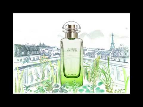 Hermes Jardin sur Le Toit Parfum