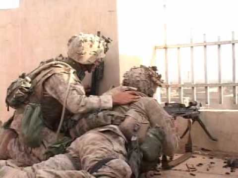 Combat footage of US Marines in Fallujah, Iraq |Music Video|