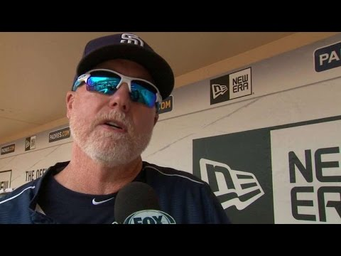 SD@PIT: McGwire gives thoughts on Olympic baseball