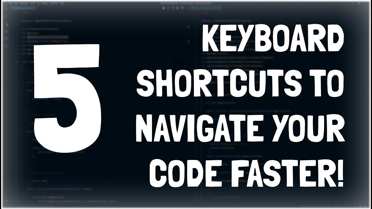 5 Keyboard Shortcuts to Navigate Your Code Faster | Owen Conti