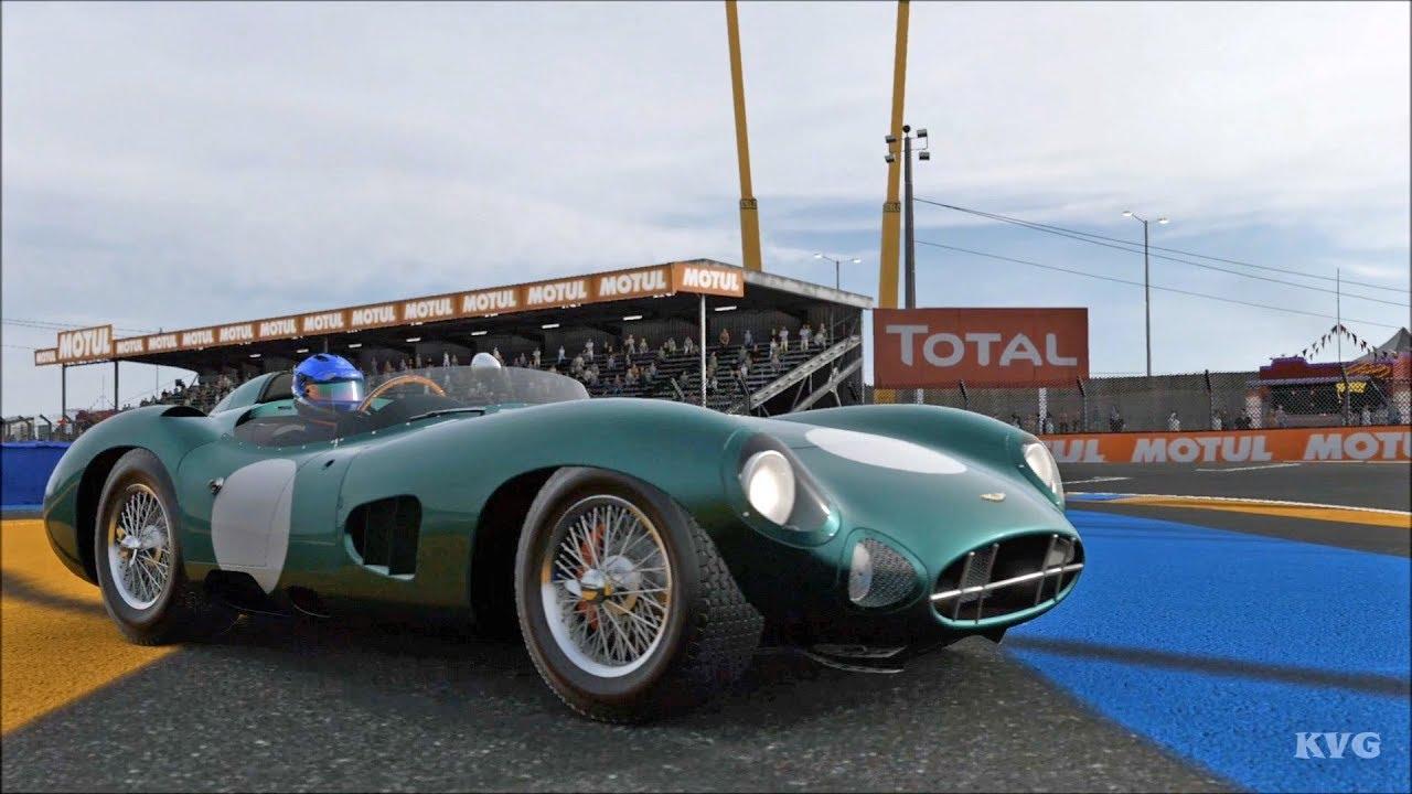 Forza Motorsport 7 Aston Martin Dbr1 1958 Test Drive Gameplay Hd 1080p60fps Youtube