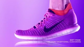 Nike Womens Free Run Flyknit