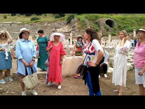 Экскурсия в Эфес. Турция. Часть 1. Excursion To Ephesus. Turkey. Part 1