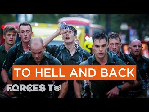 Are These Royal Marines Going To Break The World's Speed March Record? | Forces TV