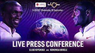 LIVE PRESS CONFERENCE | Eliud Kipchoge and Kenenisa Bekele