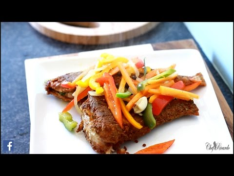 Jamaican Butter Fry Fish Escovitch Fish, Part 2 | Recipes By Chef Ricardo