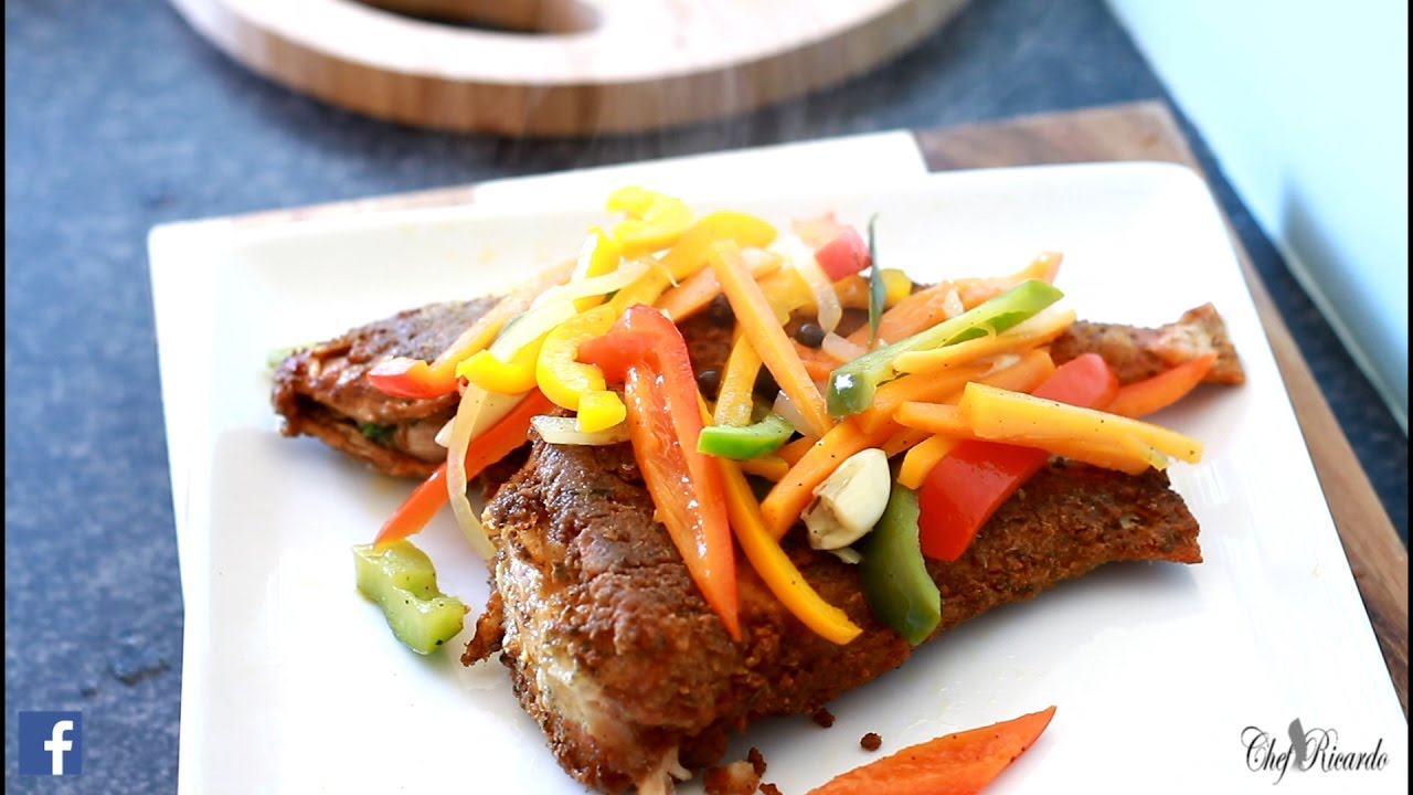 Jamaican fried fish for Fry fish recipes