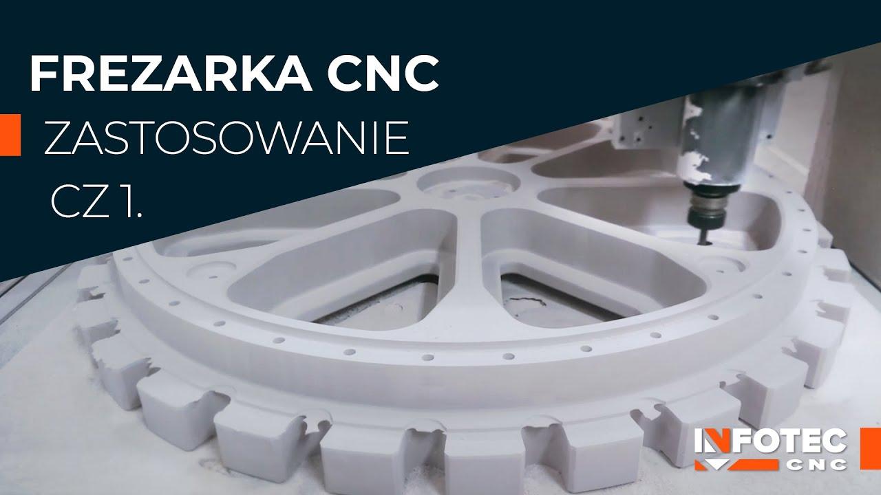 Rewelacyjny Szerokie zastosowanie frezarki CNC | Application of CNC machines JD44