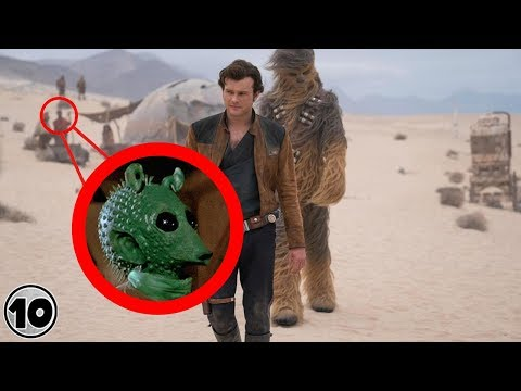Top 10 Easter Eggs You Missed In Solo: A Star Wars Story