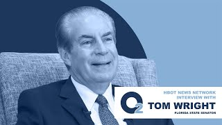 Interview with Florida State Senator Tom Wright about HBOT, TBI, & PTS
