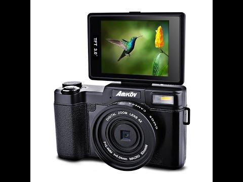 $100 1080p flip up screen camera cheap vlogging camera review