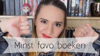 Top 5 | Minst favorieten boeken