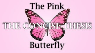 Refuting Atheism, The Pink Butterfly Argument Simplified