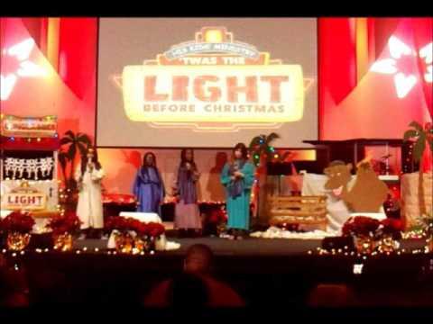 Elegant 2015 Christian Tabernacle His Kids Christmas Play U0027Twas The Light Before  Christmas Nice Look
