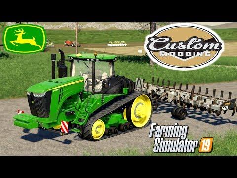 Farming Simulator 19 Mod Video Review CM John Deere 9RT