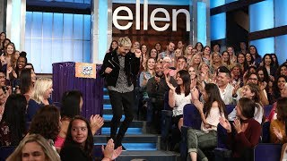 Download Ellen Gives Her Studio Audience a Pop Quiz Mp3 and Videos