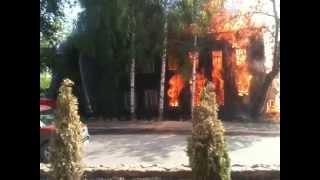 Пожар в Кирове 22 мая 2015 года