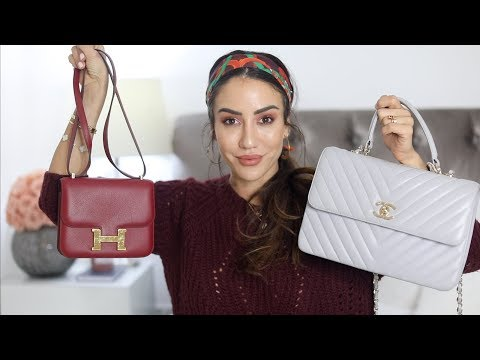 My TOP 5 Most Worn Bags of 2018 | Chanel, Hermes, Dior, LV, Fendi | Tamara Kalinic